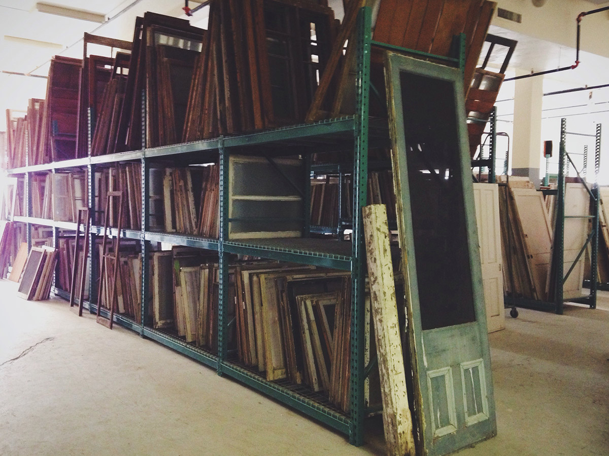 Architectural Salvage Warehouse Galveston Historical