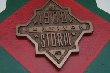 1900 Storm Survivor Plaque