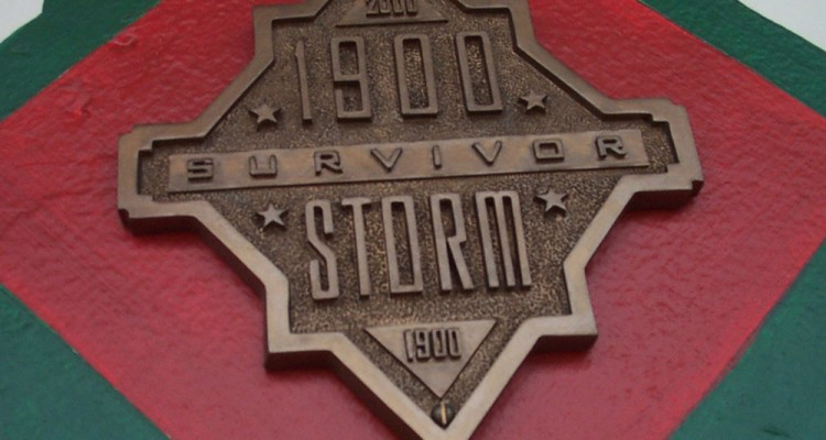1900 Storm Survivor Plaque