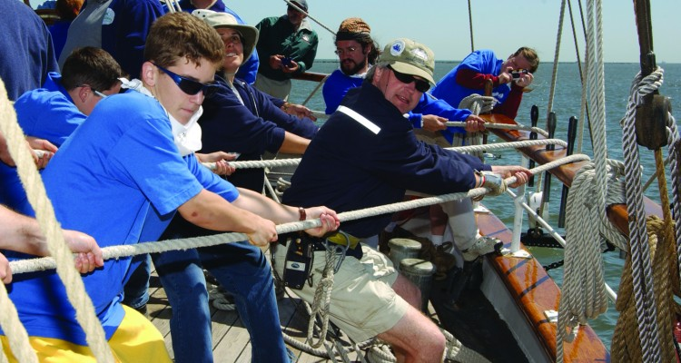 Youth Seamanship for press