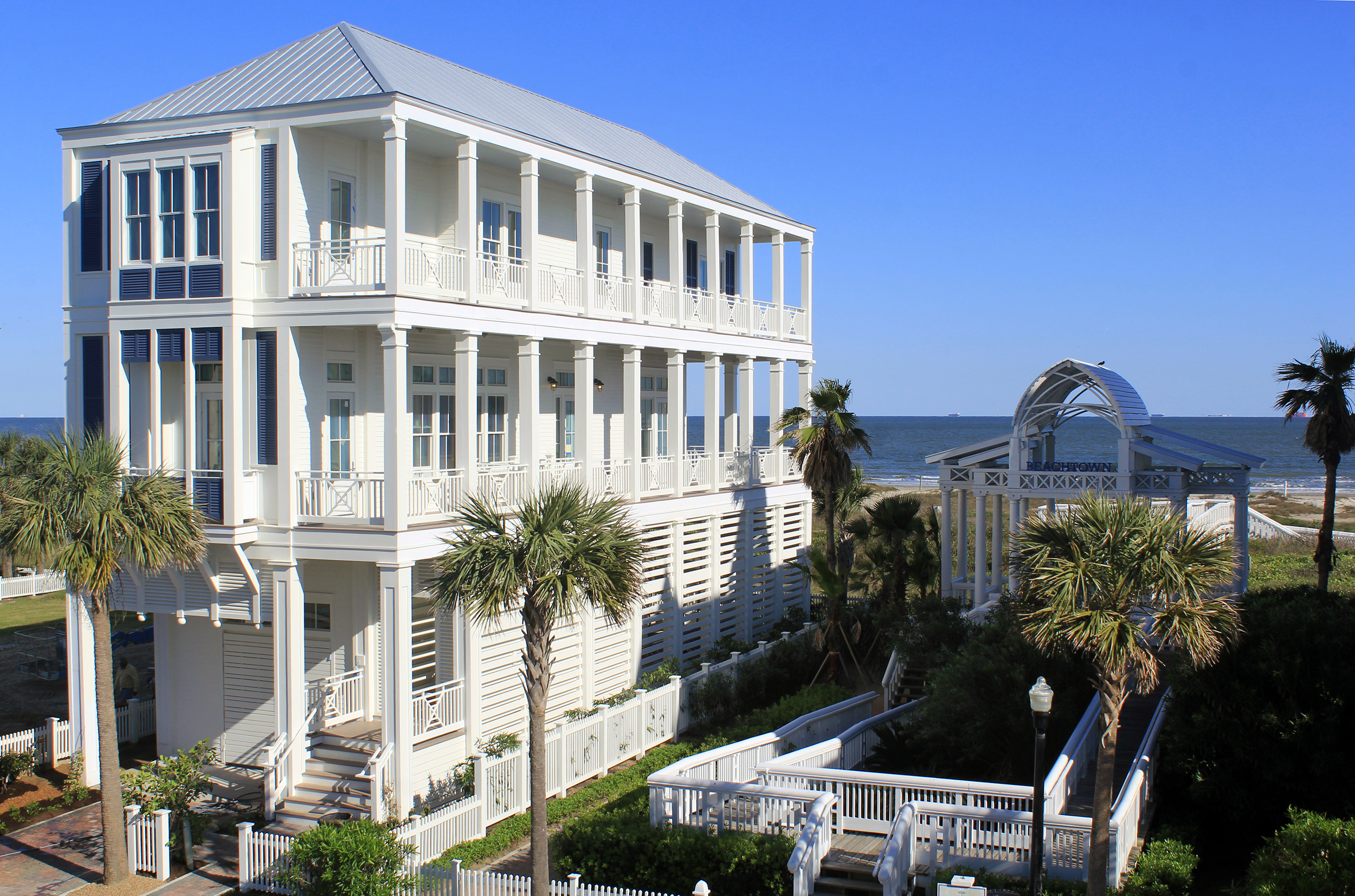 Galveston Historic Homes Tour Beachtown Features