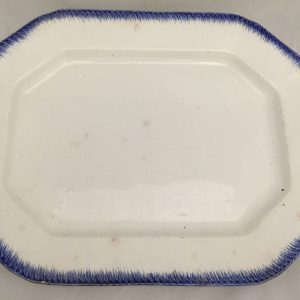 While many Texas pioneers ate off of wooden or pewter plates, Galvestonians had greater access to imported ceramic dishes because of the harbor.