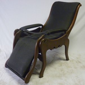 Listed on an inventory of the Williams family belongings, this chair cost Samuel May Williams $7.50. He would allegedly bring the chair onto the front porch of his house at night to look at the stars.