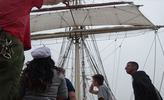 Ever wonder what life was like for a sailor in the 19th century? Join us in  setting a sail on the 1877 Iron Barque Elissa! Learn the language of  seafaring, ...