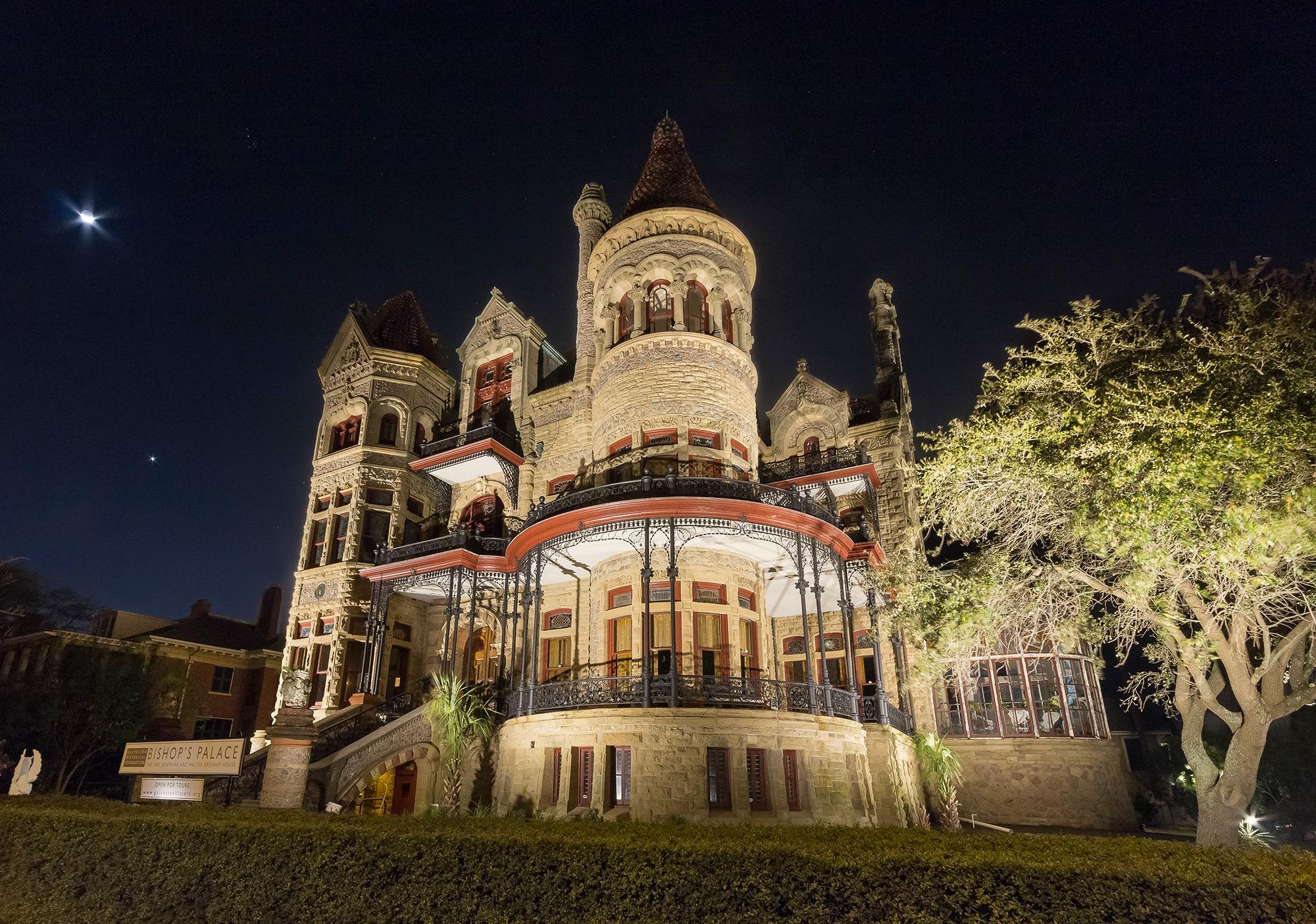 Full Moon Tour Of The 1892 Bishopu0027s Palace | Galveston Historical Foundation