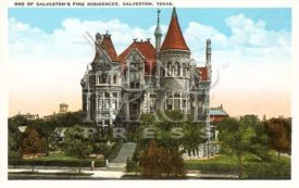Vintage Bishop's Palace Magnet