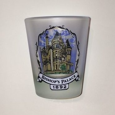 Bishop's Palace Shot Glass