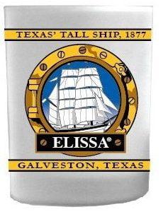 ELISSA® Porthole Rocks Glass
