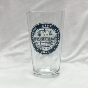 Galveston City Company - Pint Glass