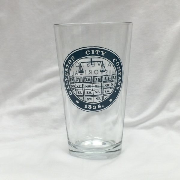 Galveston City Company - Pint Glass