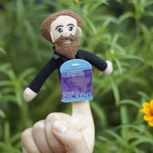 Charles Dickens Finger Puppet