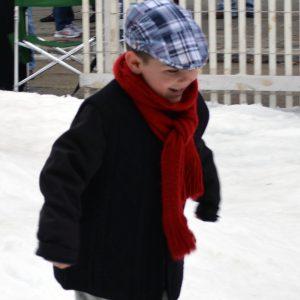 Dickens Snow Yard