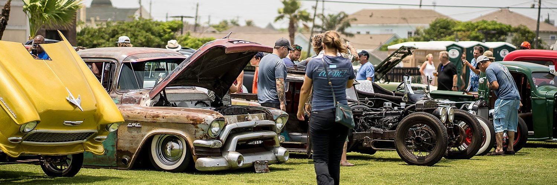 Beach Revue Car Show