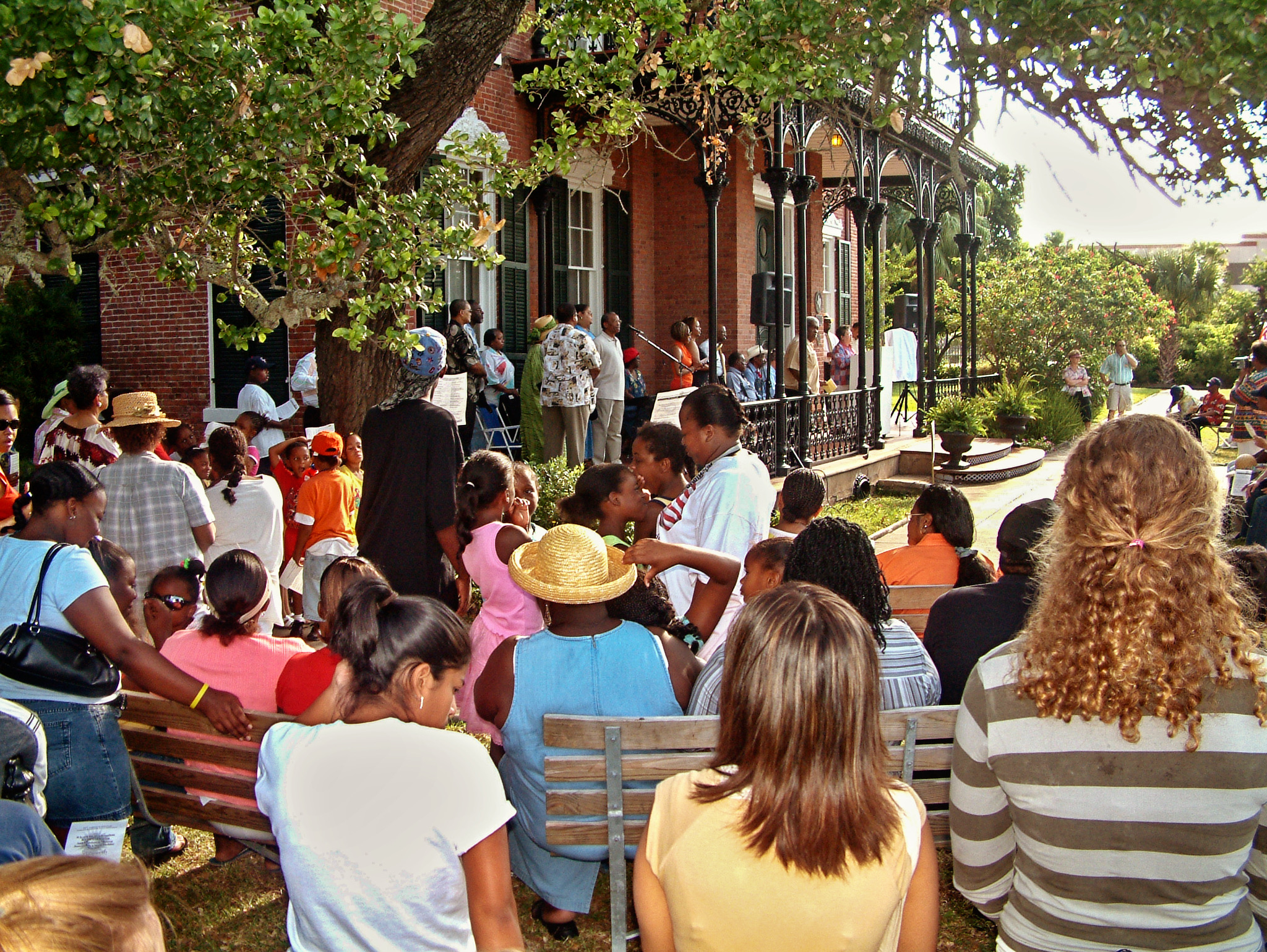 Juneteenth Commemoration at the 1859 Ashton Villa