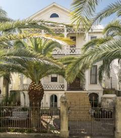 c.1881 James and Amelia Byrnes House :  Rehabilitation in Progress House - 2113 Ball Street